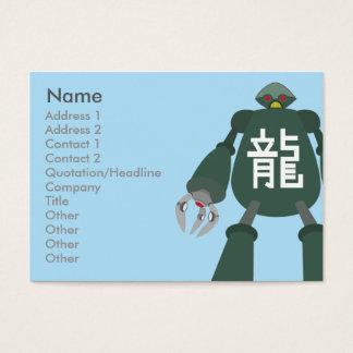 Robot - Chubby Business Card