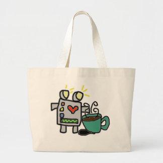 Robot & Coffee Bag
