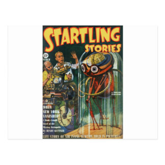 Robot Cyborg Postcard