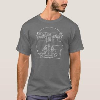 Robot de da Vinci Vitruvian T-shirt