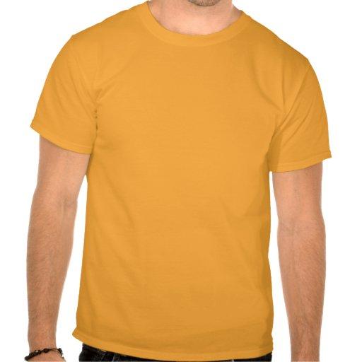 Robot Dino - orange T-shirts