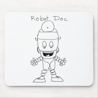 Robot Doctor Mouse Pad