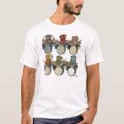 Robot Drummers T-Shirt