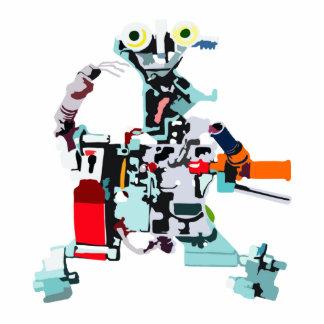 Robot Electro Standing Photo Sculpture