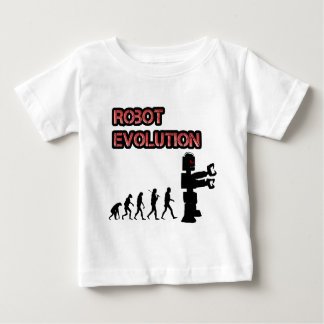 Robot Evolution 2 Baby shirt
