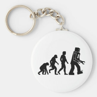 Robot Evolution Keychain