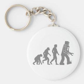Robot Evolution Keychain