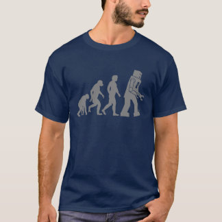 Robot Evolution - Our new Robot Overlords T-Shirt