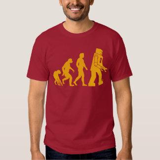 Robot Evolution Sheldon Cooper Big Bang Theory T-shirt