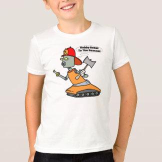Robot Fireman T-shirts