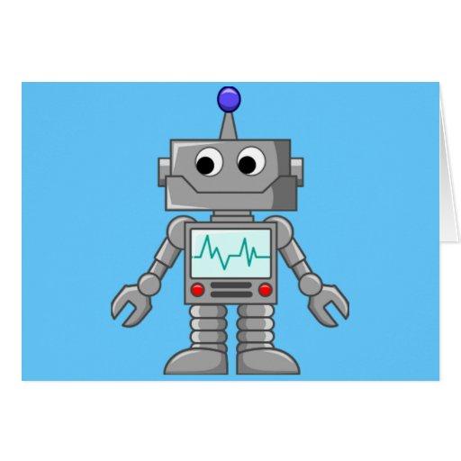 Robot Freak Carte De Vœux