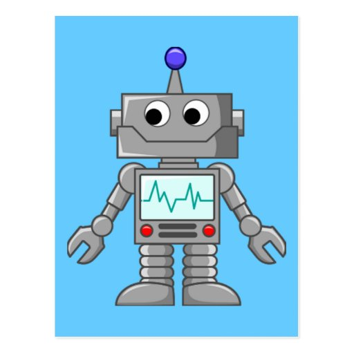 Robot Freak Carte Postale