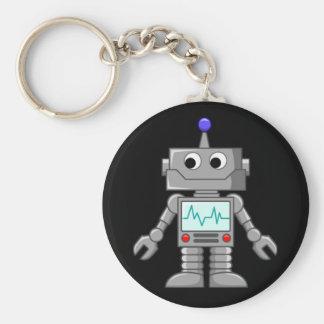 Robot Freak Porte-clé Rond