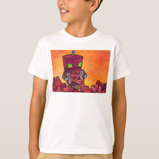 Robot Full of Hearts T-Shirt
