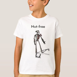 Robot guy - Feed no nuts T-Shirt