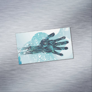 Robot Hand Magnetic Business Cards