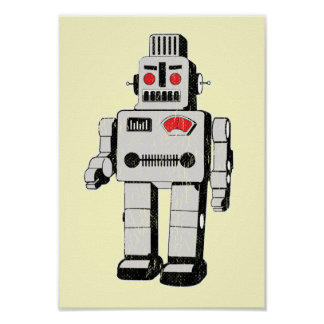 robot invasion poster