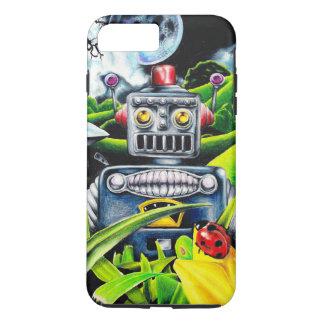 Robot Invasion - Science Fiction Artwork iPhone 7 Plus Case