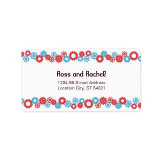 Robot Love (Gears) Wedding Address