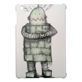 Robot love iPad mini cover