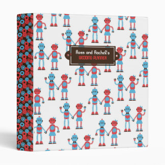 Robot Love Wedding Binders