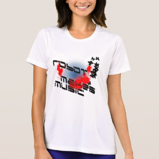 robot-makes-music-splatter T-Shirt