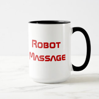 Robot Massage Mug
