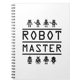 Robot Master Robotics Engineering Program Stream Notebook