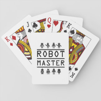Robot Master Robotics Engineering Program Stream Playing Cards