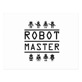 Robot Master Robotics Engineering Program Stream Postcard