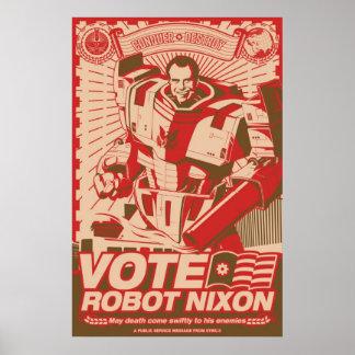 Robot Nixon - tout robot Nixon de grêle Poster