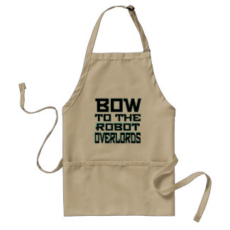 """Robot Overlords"" Standard Apron"