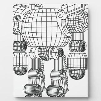 robot plaque