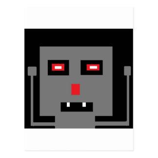 robot post card