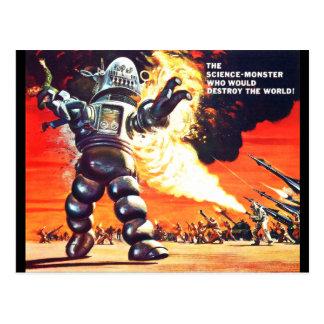 Robot Postcard