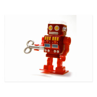 robot post cards