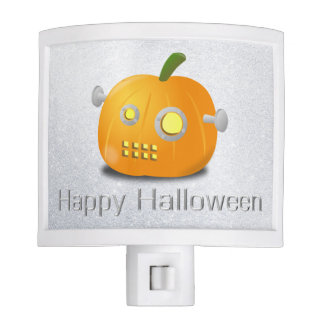 ROBOT PUMPKIN HALLOWEEN NIGHT LIGHT