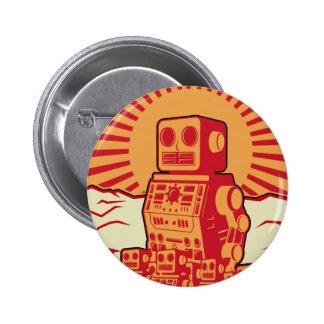 Robot Revolution 2 Inch Round Button