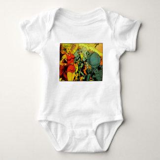 Robot Revolution Baby Bodysuit