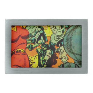 Robot Revolution Belt Buckles
