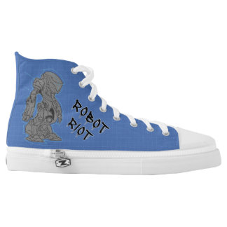 Robot Riot 14 High-Top Sneakers
