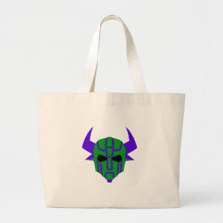 ROBOT RODEO 3 LARGE TOTE BAG