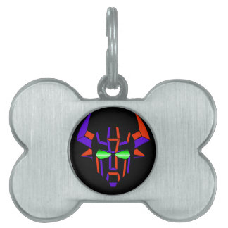 ROBOT RODEO Black Style Pet Name Tags