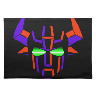 ROBOT RODEO Black Style Place Mat