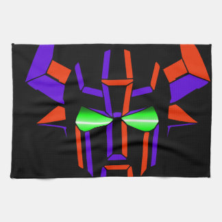 ROBOT RODEO Black Style Towel