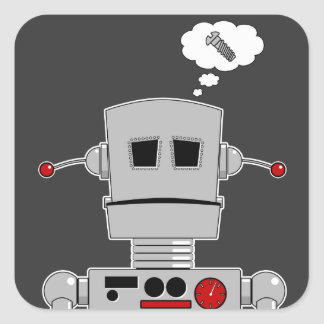 Robot Screw Sticker