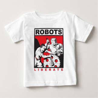 Robot sets you free baby T-Shirt