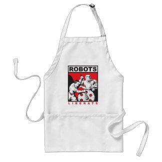 Robot sets you free standard apron