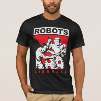 Robot sets you free T-Shirt