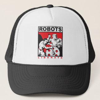 Robot sets you free trucker hat